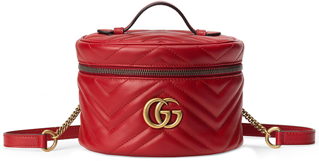 Gucci Marmont Vanity Case Backpack