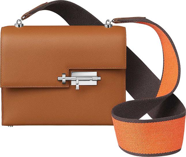 Hermes Verrou Large Strap Bag