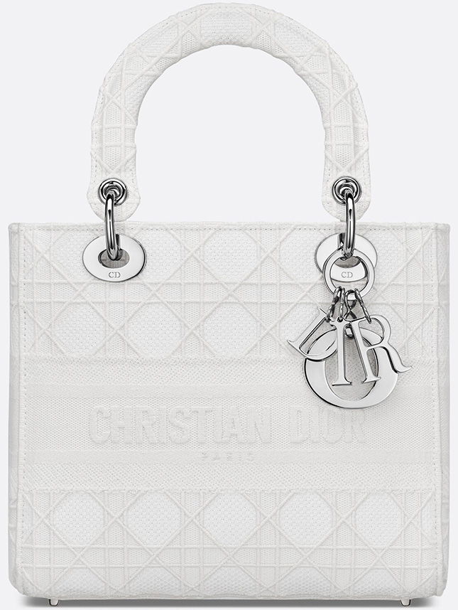 Lady Dior Embroidered Cannage Bag