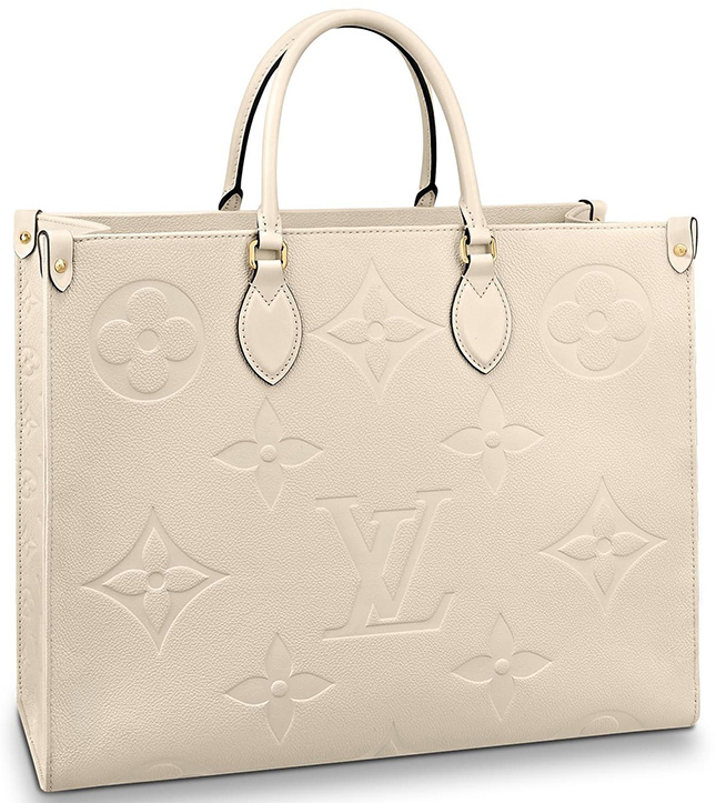 Louis Vuitton Monogram Empreinte On The Go Bag