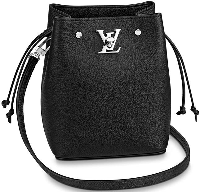 Louis Vuitton Nano Lockme Bucket Bag