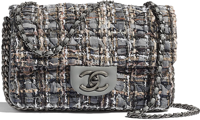 Chanel Side Pearl Classic Bag