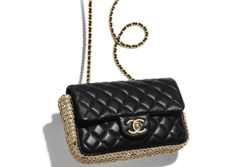 Chanel Side Pearl Classic Bag thumb