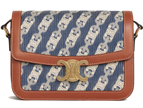 Celine Maillon Triomphe Jacquard Bag Collection thumb