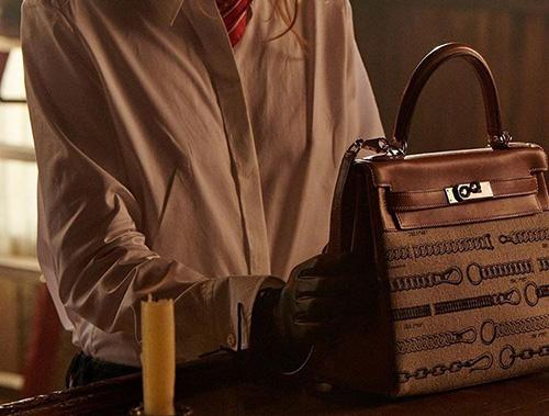 Hermes Kelly Saddle Inspired Bag thumb