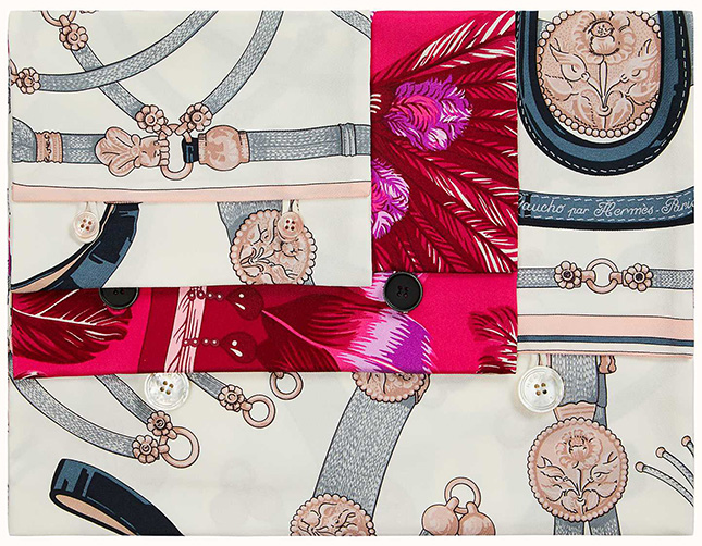 Hermes Silk Pouches