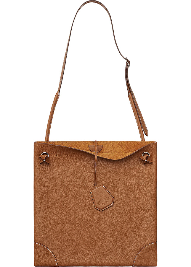Hermes SilkyCity Bag in Leather