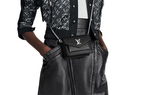 Louis Vuitton Mini MyLockMe Chain Pochette Bag thumb