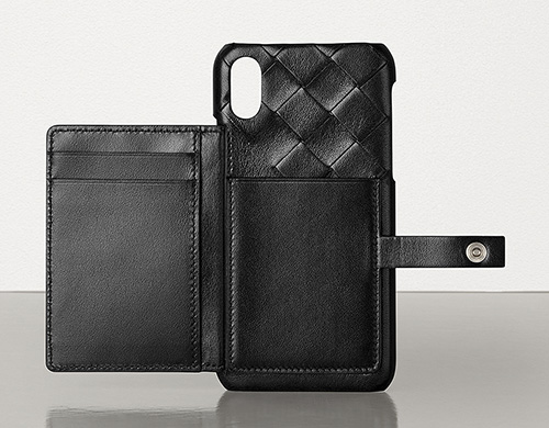 Bottega Veneta iPhone Case With Mini Pouch thumb