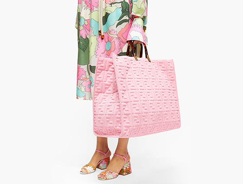 Fendi Sunshine FF Totes thumb