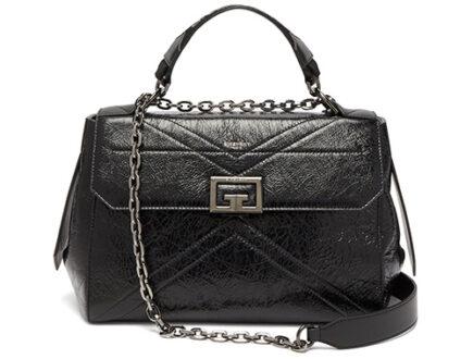 Givenchy Creased Leather Handle Bag thumb
