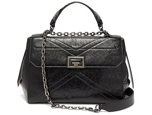 Givenchy Creased Leather Handle Bag thumb