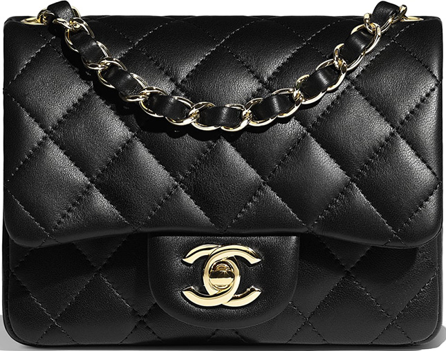 The Types Of Chanel Square Mini Bag Edition