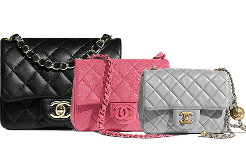 The Types Of Chanel Square Mini Bag Edition thumb