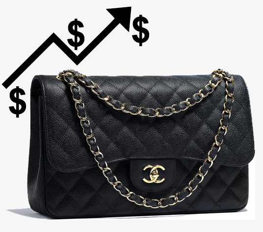 chanel price increase