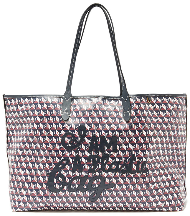 Anya Hindmarch I Am A Plastic Canvas Tote