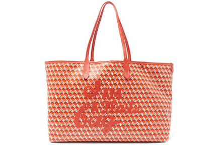 Anya Hindmarch I Am A Plastic Canvas Tote thumb
