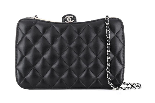 Chanel Curved Quilted Bag thumb