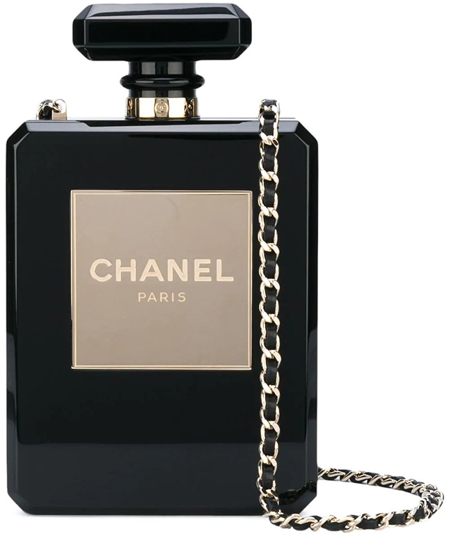 Chanel Perfume Bottle Bags And It's History