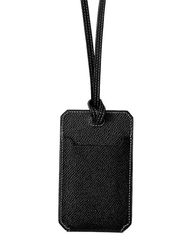 Hermes Card Holder With Strap