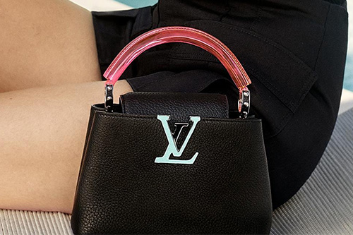 Louis Vuitton Capucines Bag with Plexiglass Top Handle thumb