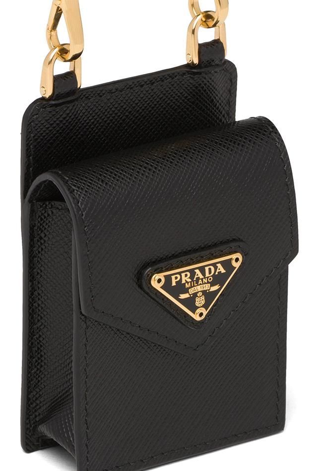 Prada Earphone Case with Strap