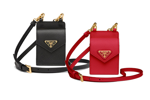 Prada Earphone Case with Strap thumb