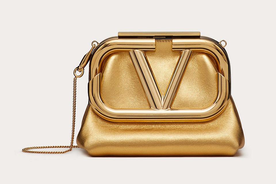 Valentino Mini Super Vee Bag fb