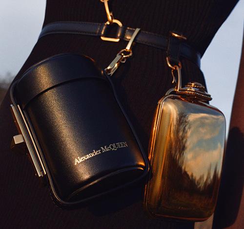 Alexander McQueen Myth Cylinder Belt Bag thumb