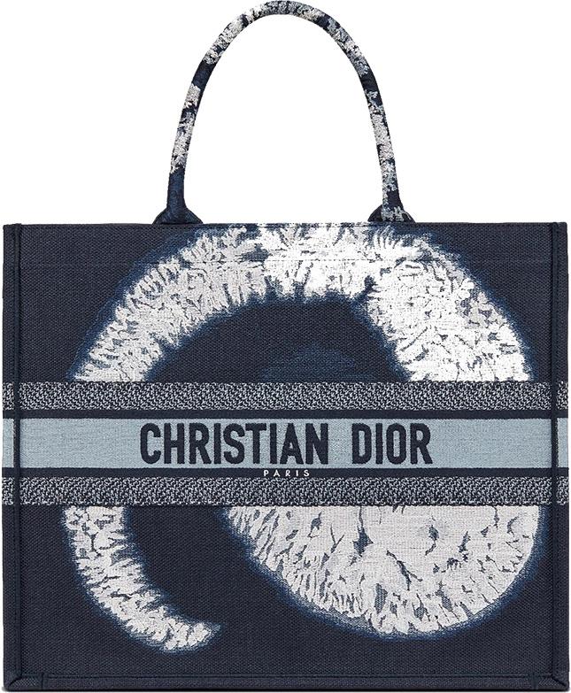 Blue Multicolor Tie Dior Bag Collection