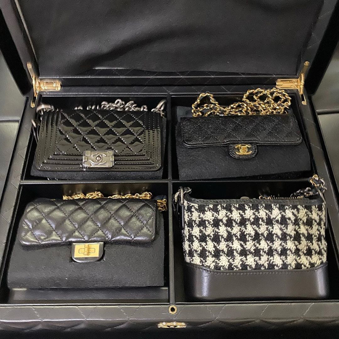 Chanel Sets Of Mini's Bags