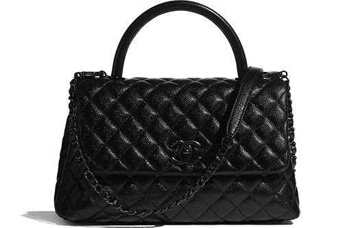 Chanel So Black Coco Handle Bag thumb