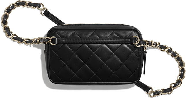 Chanel Waist Bag With Pouch