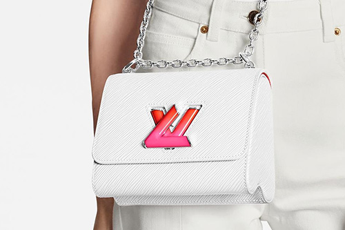 Limited Edition Louis Vuitton Twist Bag With Colored Lock thumb