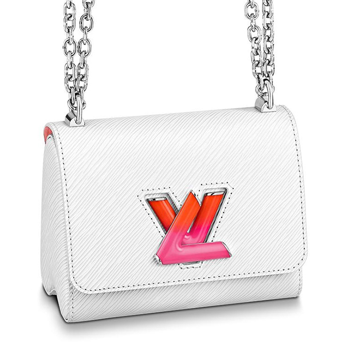 Limited Edition Louis Vuitton Twist Bag With Colored Lock