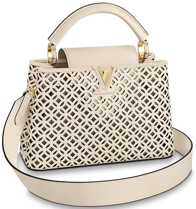 Louis Vuitton Capucines Garden Party Bag