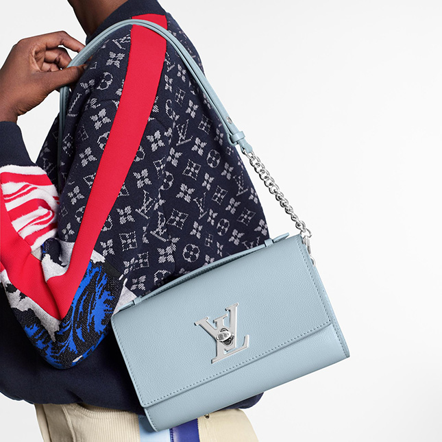 Louis Vuitton Lockme Short Handle Bag