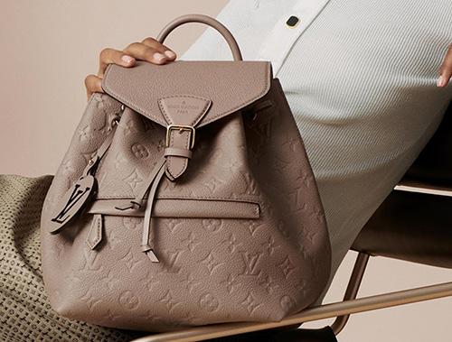 Louis Vuitton Montsouris Monogram Empreinte Backpack thumb