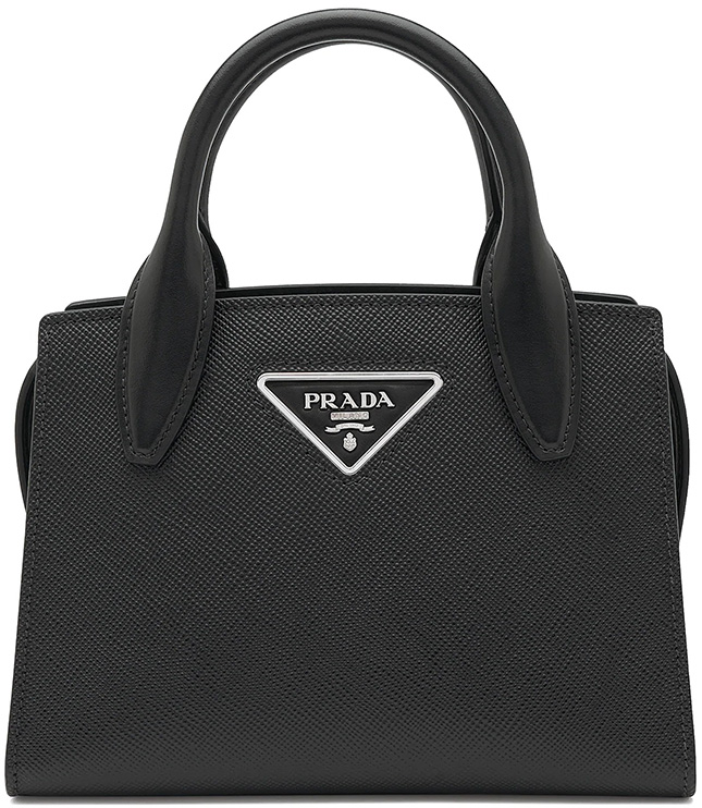 Prada Saffiano Short Handle Bag