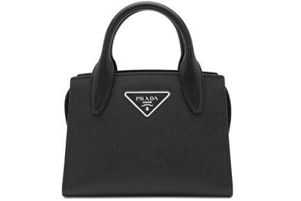 Prada Saffiano Short Handle Bag thumb