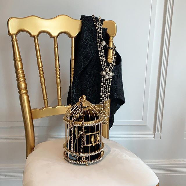 Chanel Bird Cage Bag