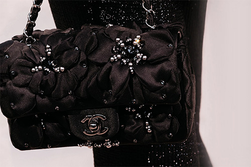 Chanel New Mini Star Camellia Classic Bag thumb