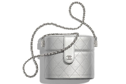 Chanel Round Vanity Clutch With Chain thumb