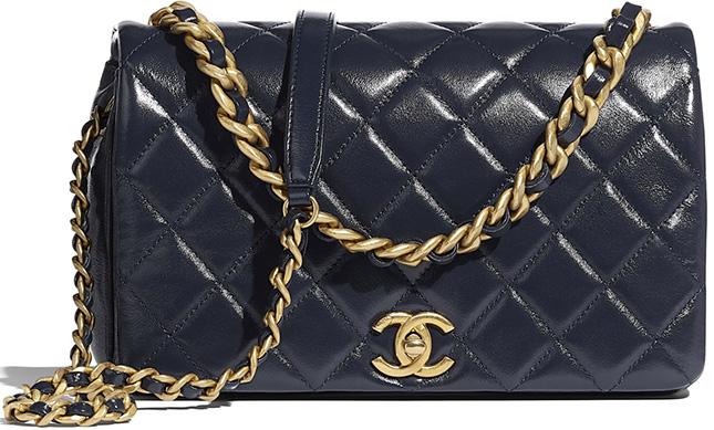 Chanel Seasonal Classic Flap Bag From Pre Fall Collection