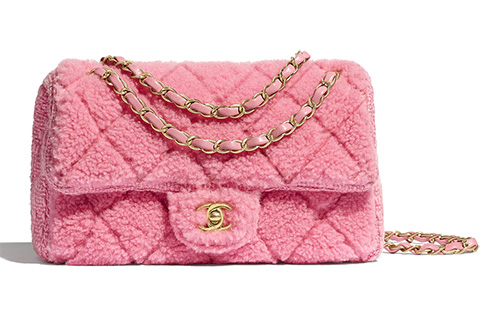 Chanel Shearling Classic Bag thumb