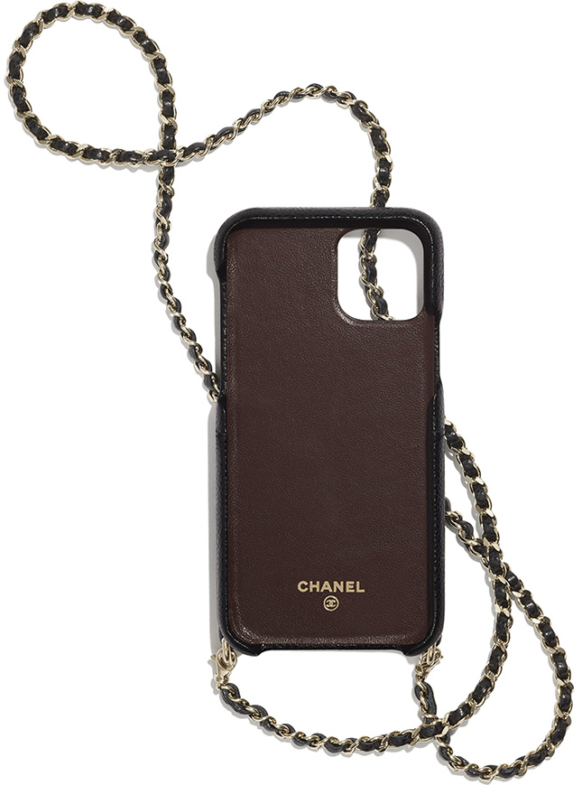 Chanel iPhone Case With Chain