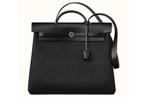 Hermes Herbag Zip All Black Bag thumb