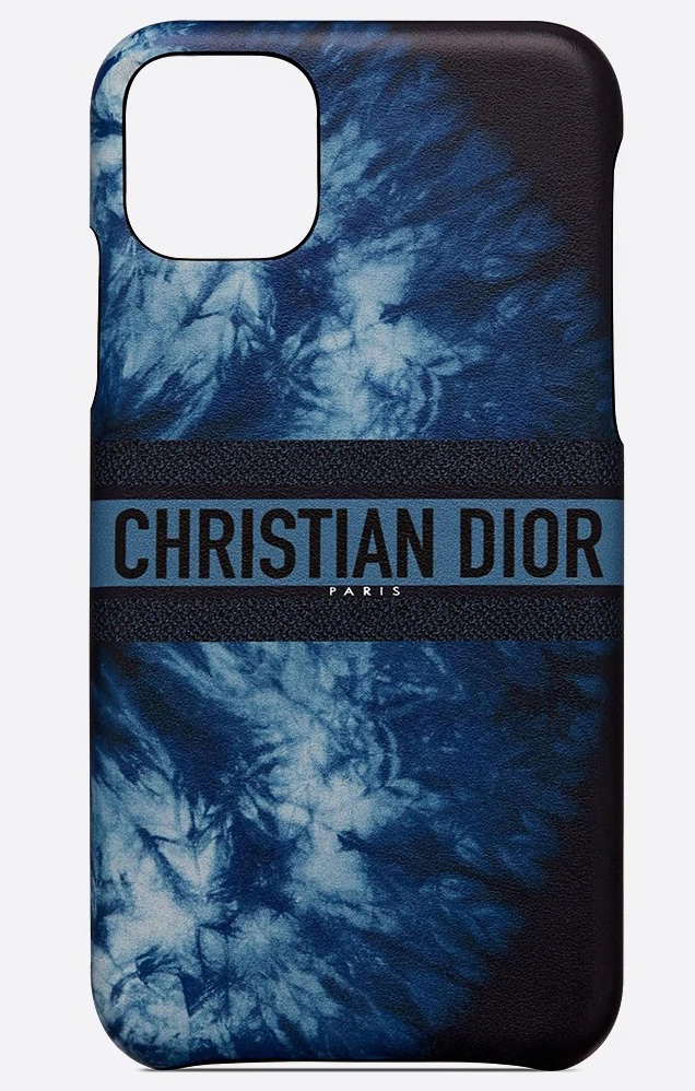 Lady Dior Blue Multicolor iPhone Cases
