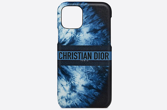 Lady Dior Blue Multicolor iPhone Cases thumb
