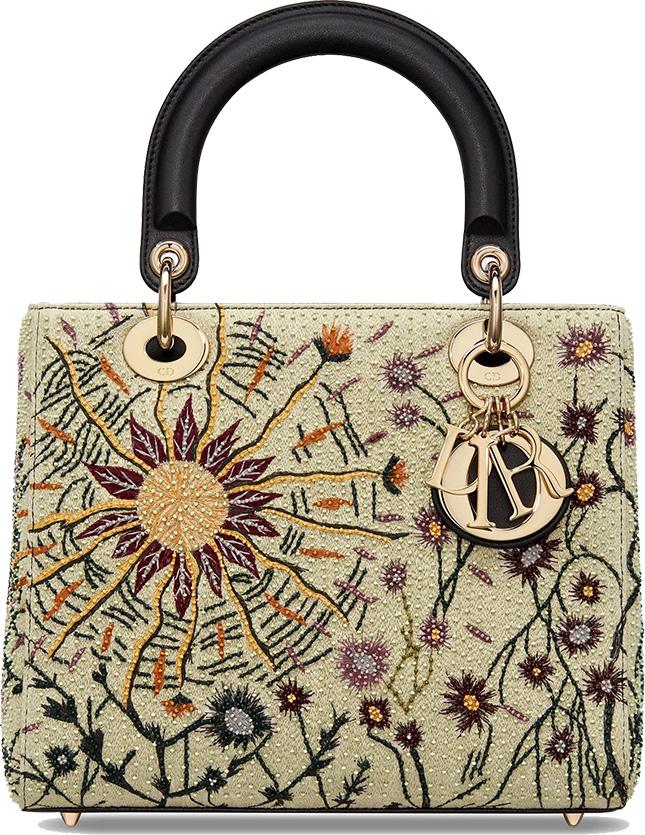 Lady Dior Jardin Au Crepuscule Bag